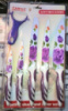 Набор керамических кухонных ножей, 6 предметов, синий