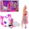 Кукла с набором мебели 68023