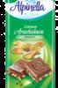 Шоколад Alpinella молочный с арахисом 90 г