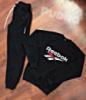 Спортивный костюм мужской Reebok Рибок / батник / штаны с манжетами / трикотаж