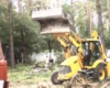 Планирование территорий земли участка Расчистка под. строительство
