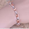 Очаровательный женский браслет на руку с морганитом