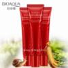 Антивозрастной крем для век с улиткой и красным женьшенем BIOAQUA