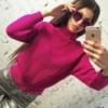 Вязаный свитер Турция 1743 СВ Код:443114295