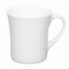 Чашка белая нестандартная