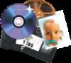 Оцифровка кинопленки, видеокассет, фотопленки и слайдов.