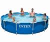 Круглый каркасный бассейн Intex  366х76 см (28210)