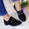 Туфли на шнуровке черные