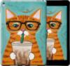 Чехол на iPhone 7 Plus Зеленоглазый кот в очках «4054c-337-14431»