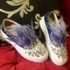 Слипы Miu Miu перья (цвет орининал)