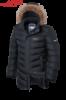 Куртка зимняя на меху удлиненная мужская Braggart Aggressive - 3877L графит