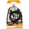 Наушники с микрофоном Lifa-003 черная