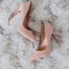 Туфли лодочки лаковые цвет Apricot