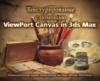 Текстурирование с помощью ViewPort Canvas in 3ds Max