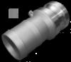 KAMLOK Тип E - Адаптер на шланг 1«- нерж/сталь