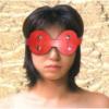 Красная маска для глаз
