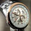 Кварцевые часы Curren тахиметр cо стальным браслетом