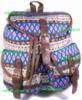 Рюкзак женский городской молодёжный модный тканевый Орнамент. Хит продаж