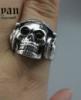 Кольцо для мужское из стали, череп в наушниках