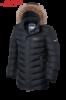Куртка зимняя мужская удлиненная Braggart Aggressive - 4277H графит