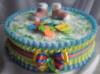 Торт из подгузников « Калейдоскоп»