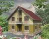 Проект комбинированного одноэтажного дома c мансардой 151.2 м2 - №302