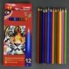 Карандаши цветные 01375 (240) 12шт в упаковке, 12 цветов