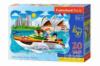 Пазлы Макси «Поездка на катере в Сиднее», 20 эл С-02375