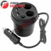 Автомобильное зарядное 2xUSB 3.1А разветвитель прикуривателя вольтметр