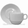 Чашка с блюдцем «Дует» 155