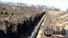 Строительство трубопровода Днепропетровск.