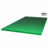 Сотовый поликарбонат 10 мм зеленый Sunnex