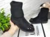 Красивые зимние ботинки. Нос Камни.