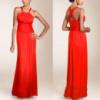 Сексуальное красное вечернее платье