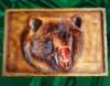 Панно ручной работы « Медведь »