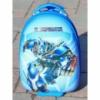Детский пластиковый чемодан на колесах «Робот» 47*31*25,5 см