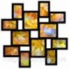 Мультирамка Маленькое Путешествие на 12 фото (Black) Код:118338