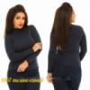 Водолазка женская теплая (р-р 48-52) 1067 жан Код:401954733