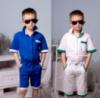 Стильный комплект на мальчика: рубашка + шорты. 2 цвета.