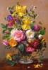 Пазлы Castorland 1500 элементов «Летние цветы в стеклянной вазе» ()
