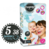 Підгузки Poopeys Super Soft System Junior 5 (11-25 кг) - 38 шт.