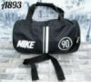 Спортивная дорожная сумка Найк Nike небольшого размера цвет черный