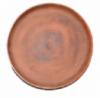посуда для пиццы из красной глины _тарелка гончарная для приготовления пищи , (красная глина, обжиг t=1200