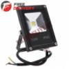 Прожектор светодиодный LED уличный, теплый белый 10Вт 1000лм 220В