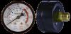 Манометр 52мм 1/4« 12kg/cm2-180PSI (металлический корпус выход сзади)