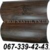 Сайдинг металлический 067-339-42-43 блок-хаус Темный дуб (шир. 0,35 м)