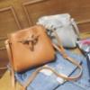 Стильная женская сумка-мешок, 3 цвета