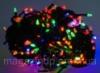 Гирлянда светодиодная LED 100 мультик черный Код:122614