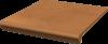 Клинкерные ступени с капиносом прямые Paradyz Aquarius Brown 30х33