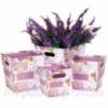 Комплект коробок для цветов Сирень (4 шт.) Код:123083